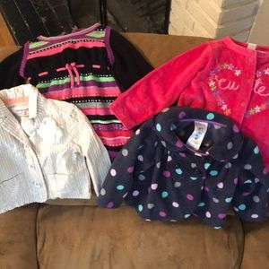 Other - Lot of 4 toddler jackets/sweaters
